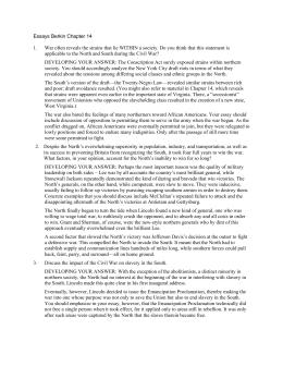 Apush essays on reconstruction
