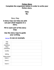 Fiction Story Organizer