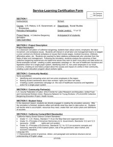Service-Learning Certification Form
