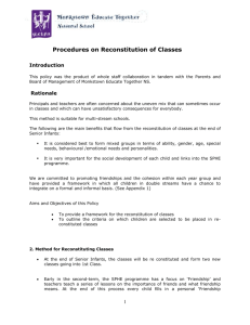 Reconstitution-of-Classes-Policy-METNS