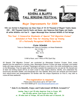 rivers & bluffs fall birding festival