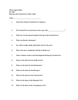 music appreciation study guide 2 Music appreciation study guide music appreciation classical easy listening  jazz pop country  all the exams in this study guide image of page 2.