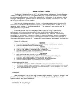 2011 Influenza Vaccine Consent Form