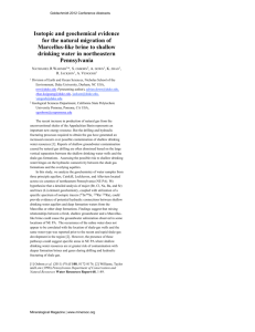 GROUND WATER QUALITY IN SHALLOW AQUIFERS OF INDIA CENTRAL