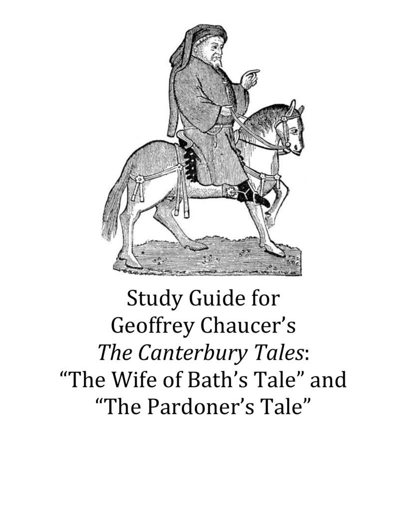 a review of geoffrey chaucers short narrative the pardoners tale George lyman kittredge is increased by the excellence of the pardoner's tale, perhaps the best short narrative poem in the to geoffrey chaucer.