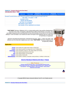 Product catalog - EASTERN AUTOMOTIVE MACHINE
