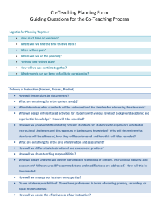 Guiding Questions for Co