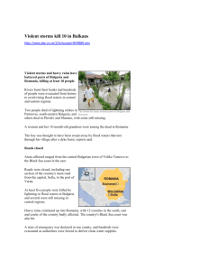 BBC information about flooding,2005