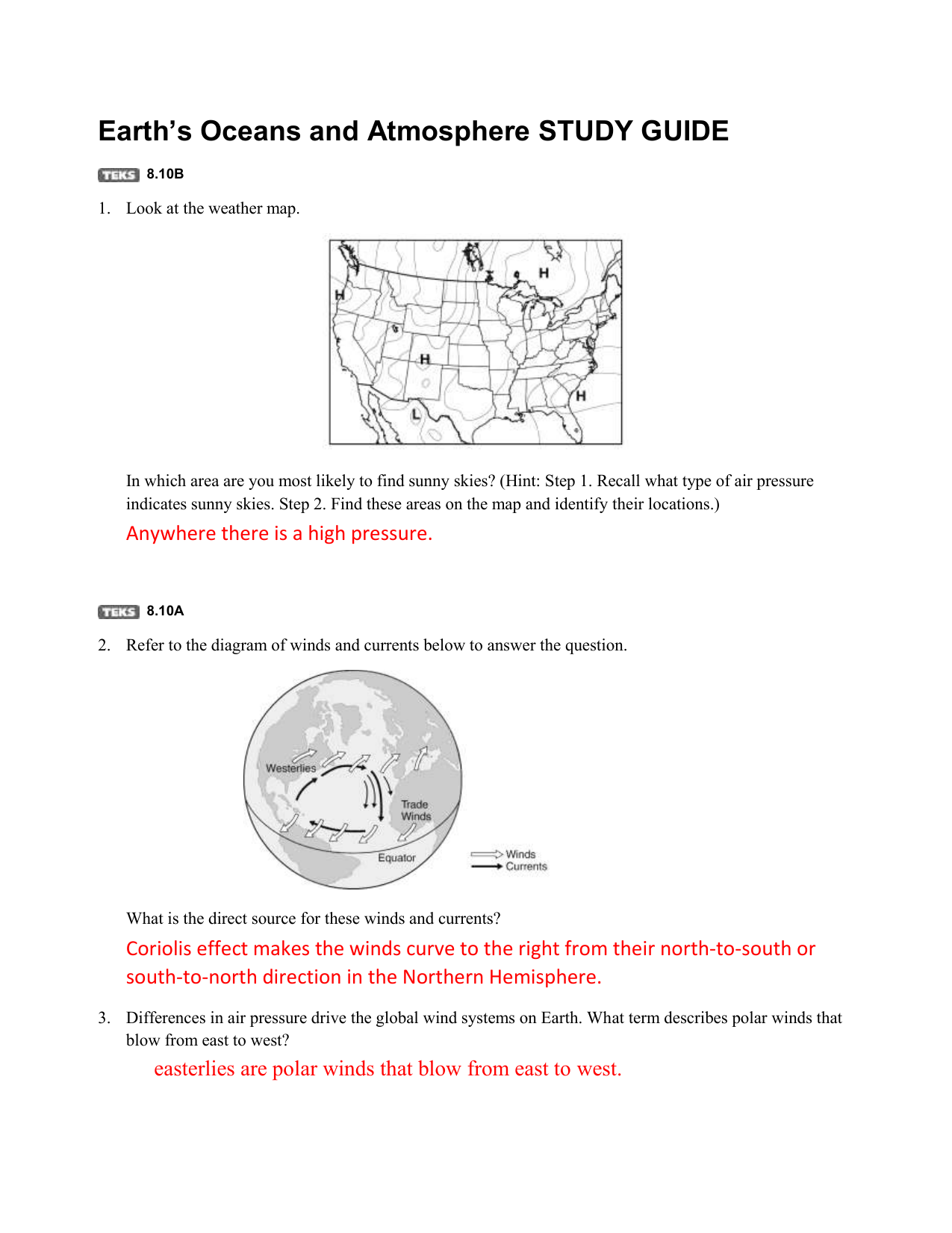 Earths oceans and atmosphere study guide 810b 1 look at the pooptronica