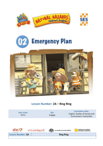 Emergency Plan 2A