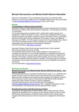 Newsletter 7 – 7th January 2008