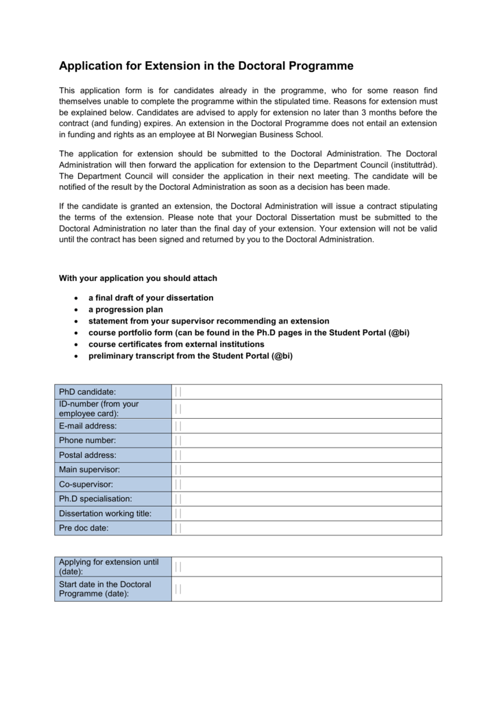 Dissertation extension how do u write a research paper
