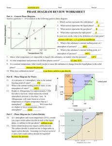 Phase Diagram Review - Liberty Union High School District