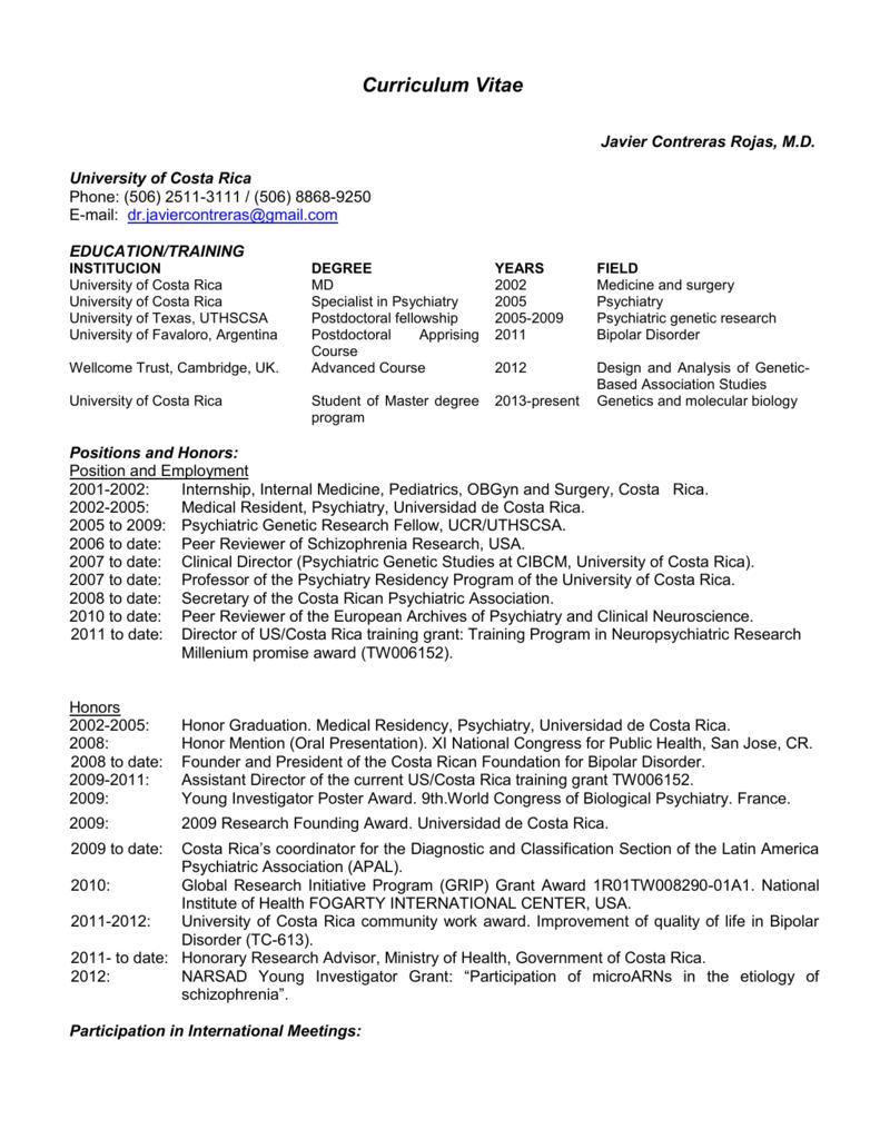 Curriculum Vitae S3 Amazonaws Com