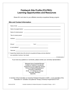 Learning Opportunities and Resources