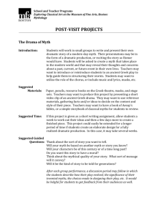 post-visit projects - MFA for Educators