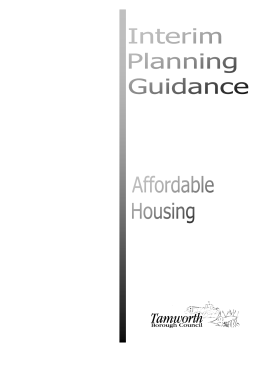 affordable housing supplementary planning document consultation