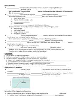 31 Population Ecology Graph Worksheet Answers Key - Free ...