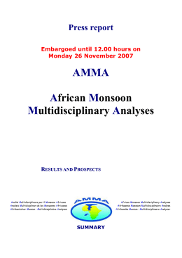 Mechanisms of the African monsoon: new insights from