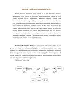 Inter Bank Fund Transfer in Distributed Network