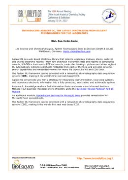 Agilent openlab manual