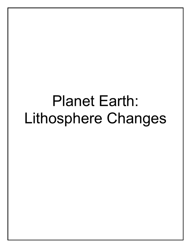 worksheet Planet Earth Shallow Seas Worksheet planet earth unit