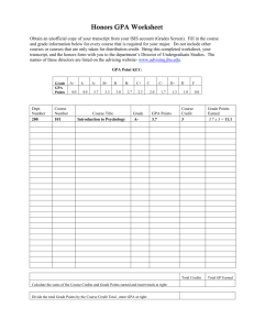 Honors GPA Worksheet (pdf format)