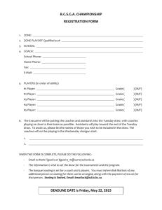 BCSSGA Championship Registration form