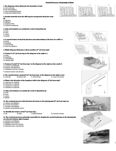 Coastal Processes Test_online sample