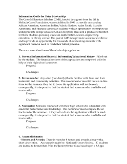 gates millennium scholarship essay questions checklist for gates scholarship