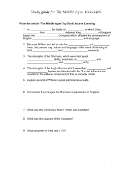 Study guide for - Fort Bend ISD / Homepage