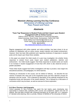 Learning in Law – annual conference