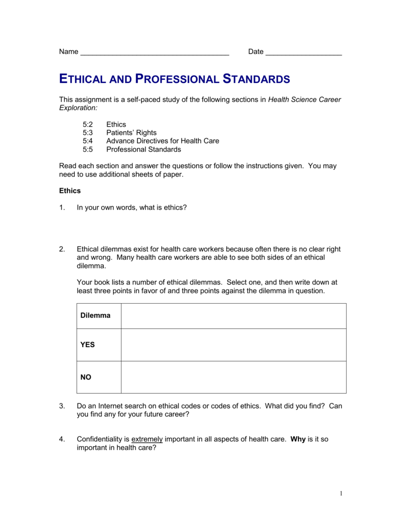 dating patient ethics