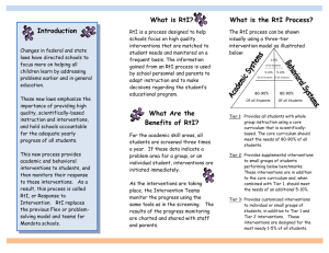A Parents Guide to Rti