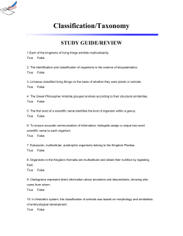evolution and classification test study guide Classification study guide  proposing the theory of evolution by natural selection c  study the table below and answer the questions that follow.