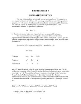 Hardy-Weinberg worksheet answers