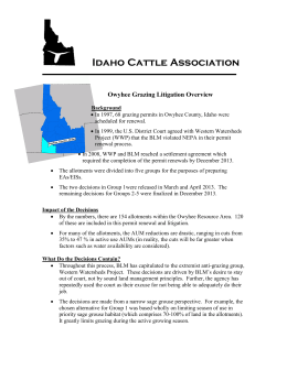 March 1, 2004- - Idaho Cattle Association