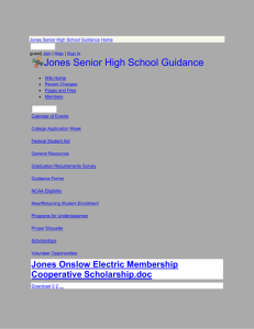 Jones Onslow Electric Membership Cooperative