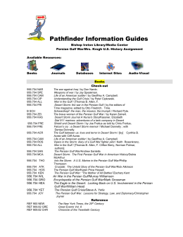 Pathfinder Information Guides