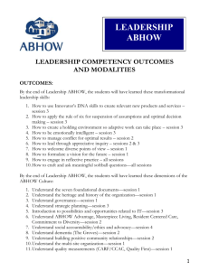 LEADERSHIP ABHOW