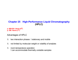 2006 10 23 HPLC (for students)