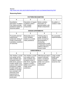 Reasoning Rubric