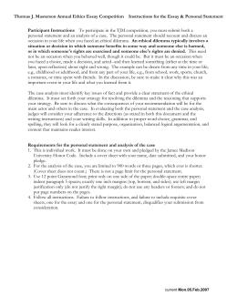 Management - Jim Poss Case Study, Case Study