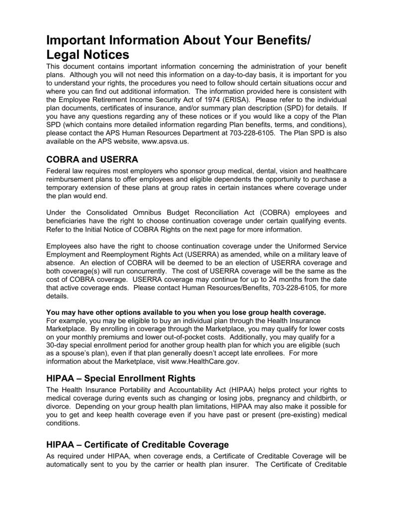 Legal Notices Arlington Public Schools
