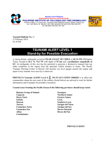 Earthquake Epicenter - Philippine Institute of Volcanology and