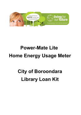 Our guidance notes - City of Boroondara