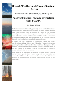 Monash Weather and Climate Seminar Series