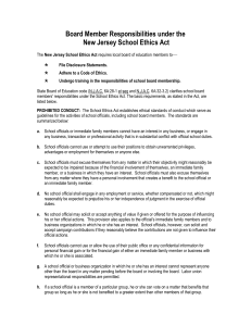 Attention: Prospective School Board Candidates