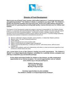 Director of Fund Development Want to join one of South Texas