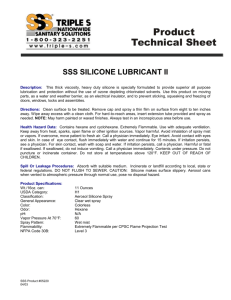 Silicone Lubricant II